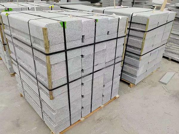 鲁灰石材厂--鲁灰石材的磨边加工